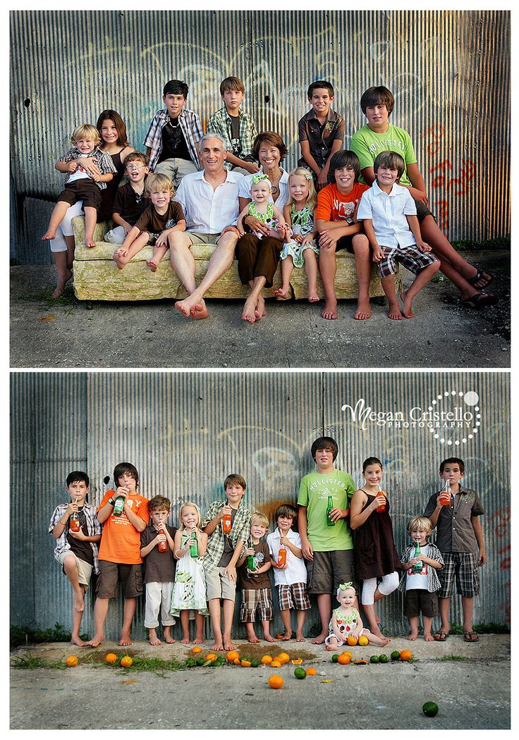 Large group/family themed session