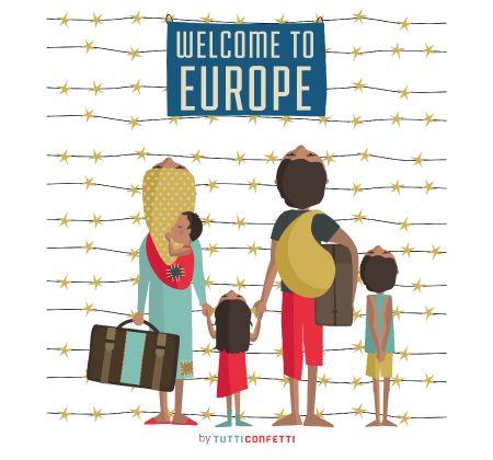 Bienvenidos Refugiados: En días como hoy sólo siento vergüenza, y no es ajena.