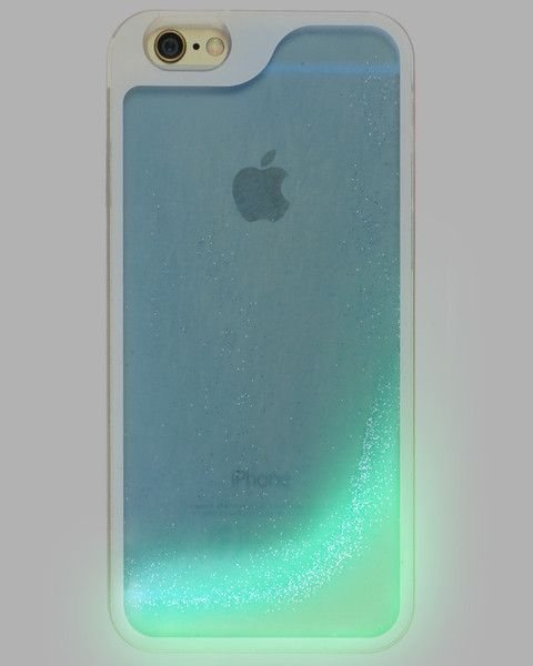 Bring on cascades of glamour and fabulousness with our designer glow in the dark Glitter Waterfall case for the iPhone! Available for iPhone 5/5S - iPhone 6 - iPhone 6 Plus.