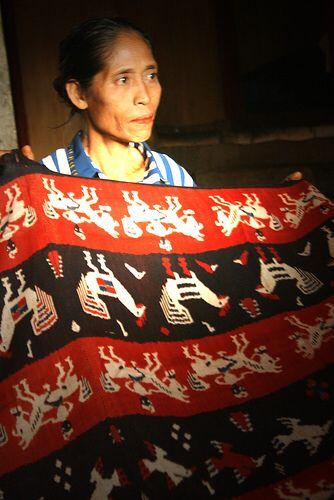 Handmade original tenun