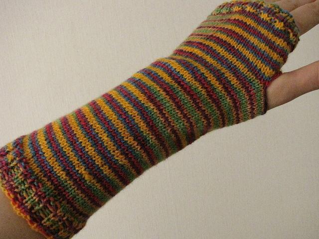 rainbow barf mitts