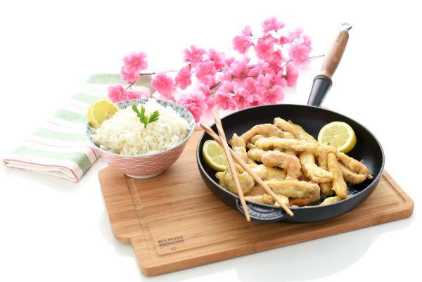 Pollo al limón estilo chino | Velocidad Cuchara
