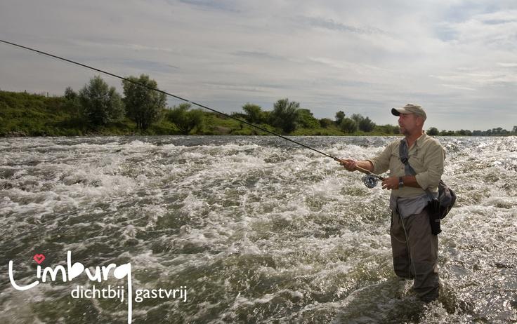 Limburg: een waar paradijs voor vissers, langs de oevers van de Maas.  Surf naar:  www.toerismelimburg.be/vissen