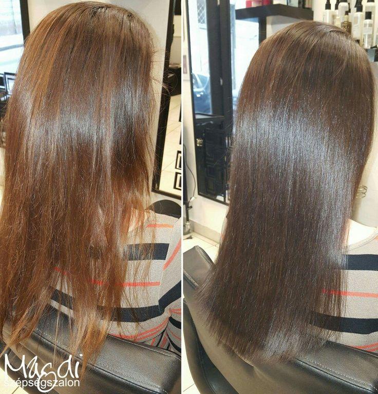 Valami másra vágynál, de azért teljesen eltérőt sem szeretnél? Magdi itt is csak egy kevéssel festett más színt, de így is megújult a haj :)