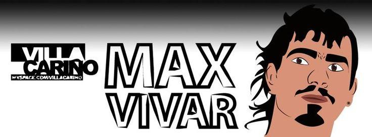 """Max vivar """"villa Cariño"""" vectorizado"""