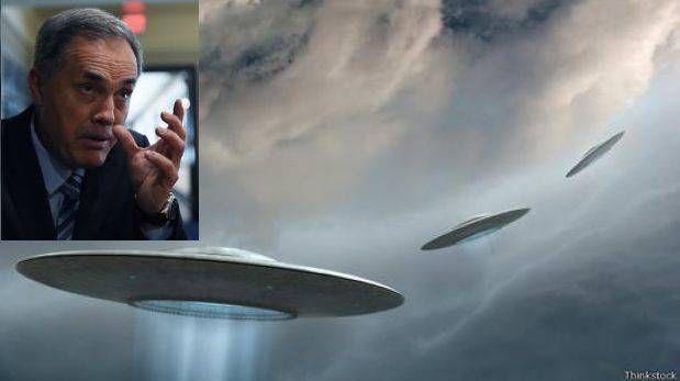 "Sixto Paz: ""Esperamos contacto extraterrestre en Washington"""