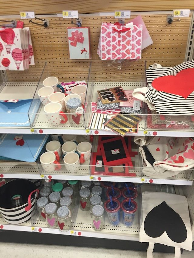 Valentine's Day finds in the Target Dollar Spot