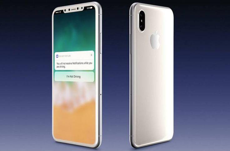 iPhone 8: Rendering φωτογραφίες σε λευκό και μαύρο χρώμα // More: https://hqm.gr/iphone-8-leak-in-white // #Apple #IPhone #IPhone8 #Leaks #Smartphones #Gadgets #Photos #Tech