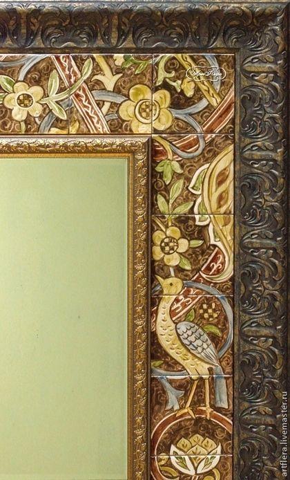 """Зеркала ручной работы. Ярмарка Мастеров - ручная работа Зеркало """" Морисс"""". Handmade."""
