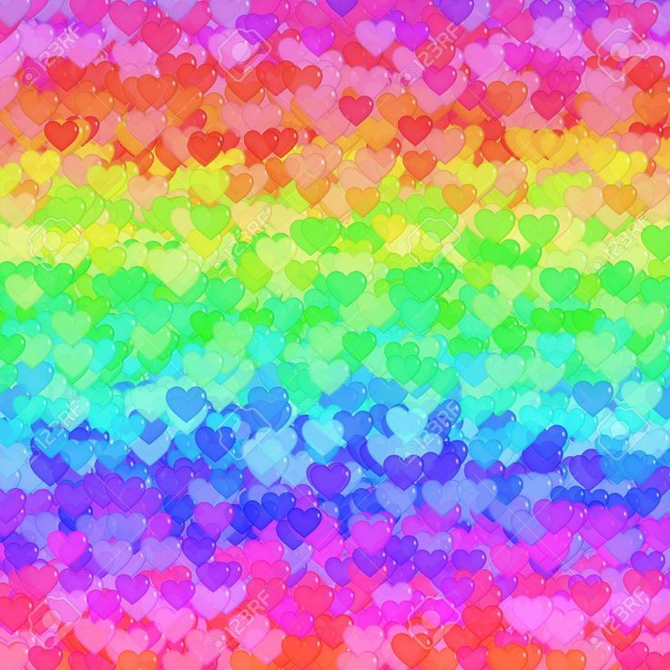 120 best images about rainbow hearts on pinterest
