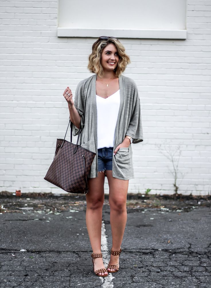 Summer Kimono Sweater - chic summer style - great summer heels - $1000 Nordstrom card giveaway!
