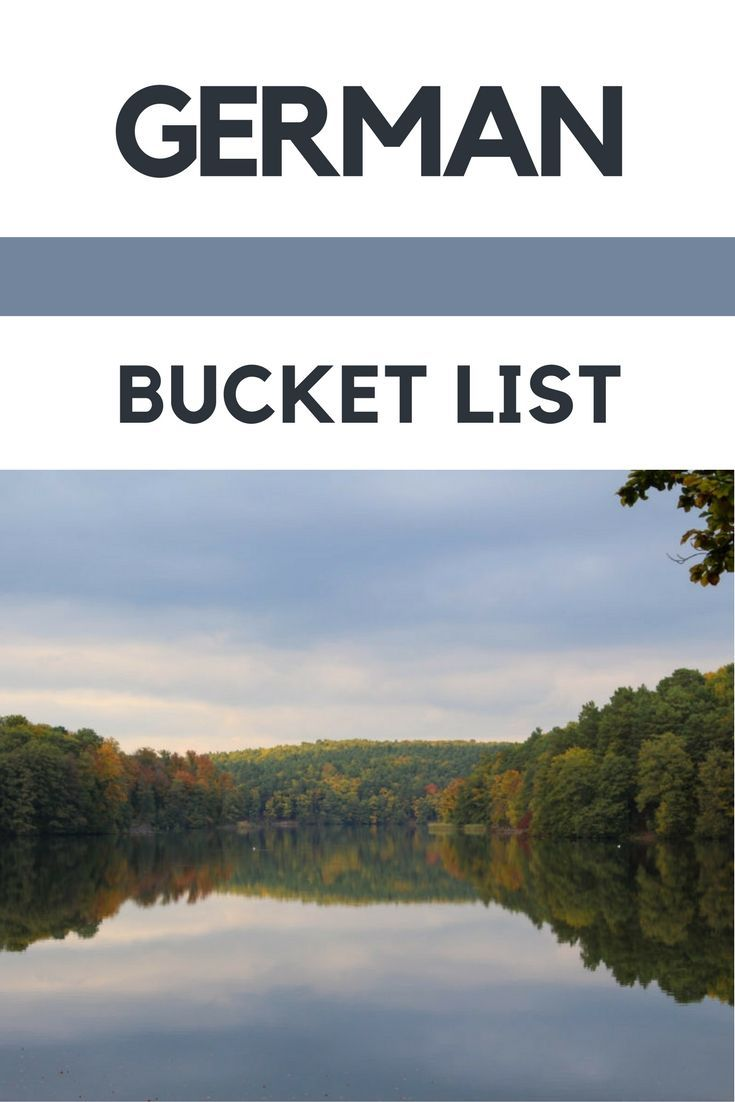 The Ultimate German Bucket List | Travel bloggers from Germany and around the world have come together to create the ultimate German bucket list to inspire you and help you plan your next trip to Germany