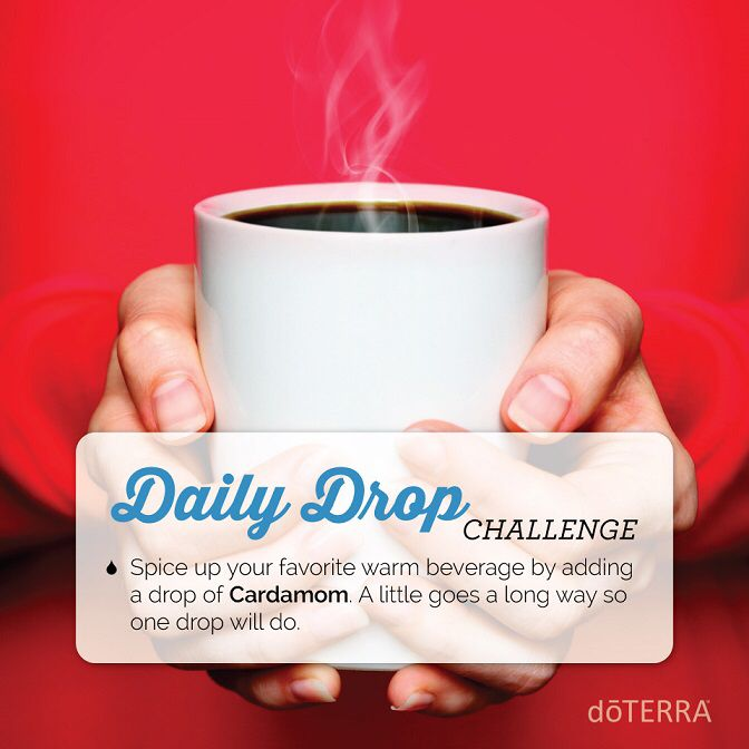 doTERRA for 'Spice Up Your Life' Here's a quick video and great essential oil usage tip I thought you would be interested in. https://doterra.com/US/en/dailydrop/lifestyle/07 To get daily videos and tips just like this one, download the daily drop app here. https://doterra.com/US/en/university/living/daily-drop