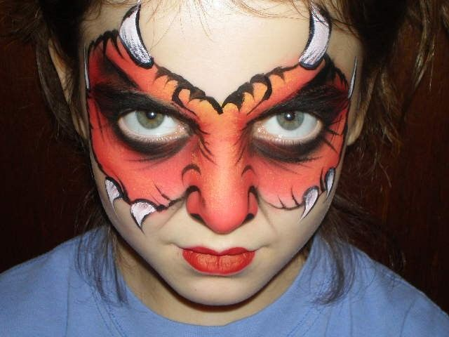 face paint face painting tips guys kids face painting stencils - Halloween Face Paint Ideas For Children