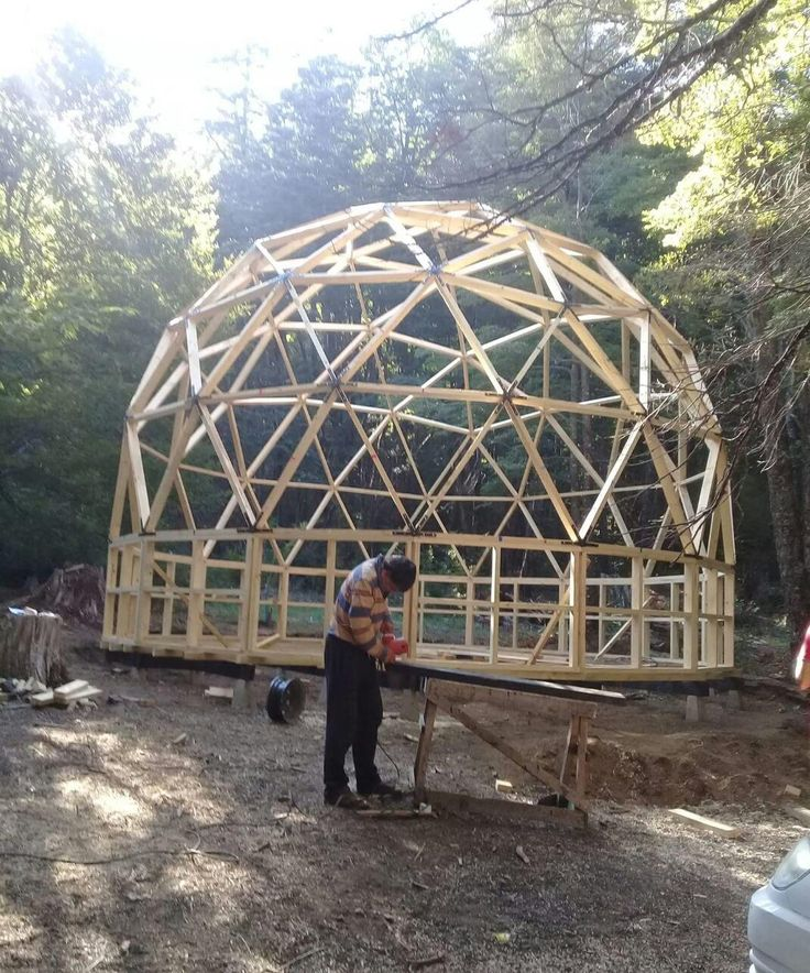 2x6 Heavy Duty Wood Geodesic Hub Kit: Designs Of And For The Future