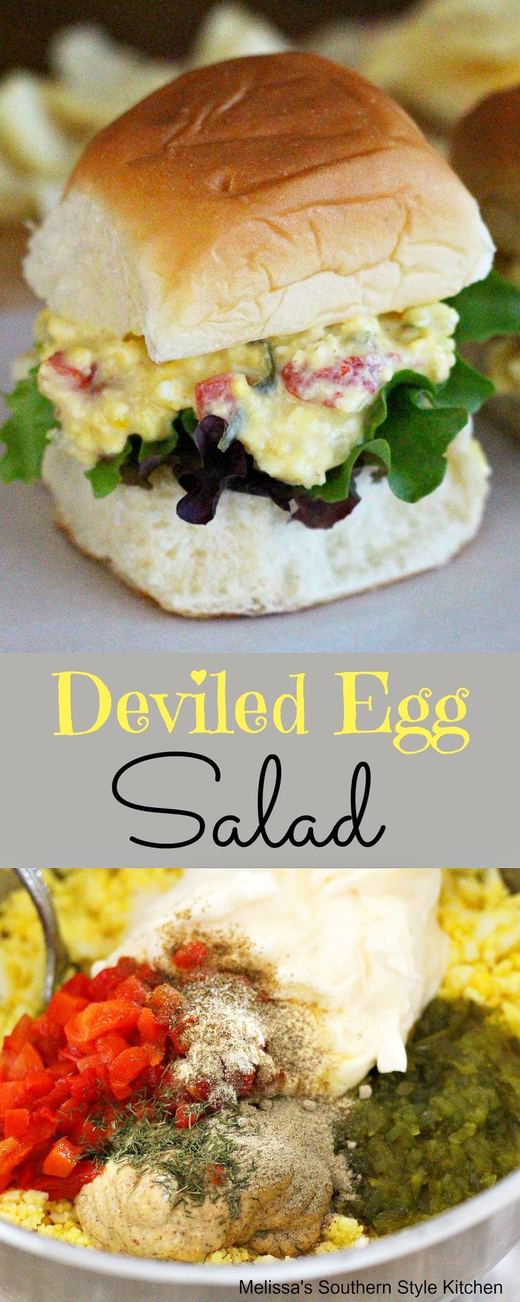15733 best recipes from our favorite bloggers images on for How to make homemade deviled egg potato salad