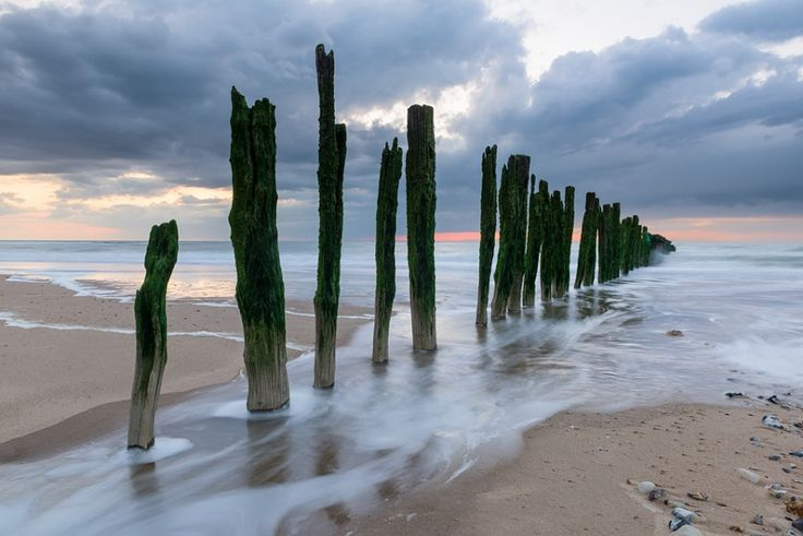 Weathered poles - Sangatte, France