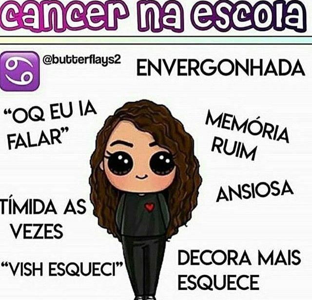 Prazer Essa Sou Eu Câncer Zodiac Signs Signs E Zodiac