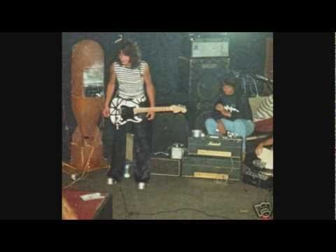 Eddie Van Halen / Valerie Bertinelli On Late Night With David Letterman - 1985 - YouTube