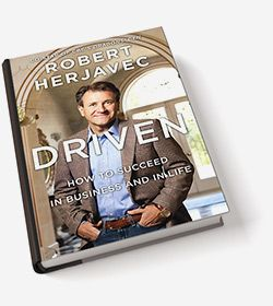 """I think Robert was one of the best parts of Dragon's Den.  I'll miss him there but I want to catch up with his amazing story by reading """"Driven"""" soon."""