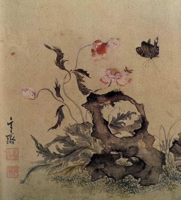 (Korea) by Hyeonjae Shim Sa-jeong (1707-1769). ca 18th century CE. color on paper.