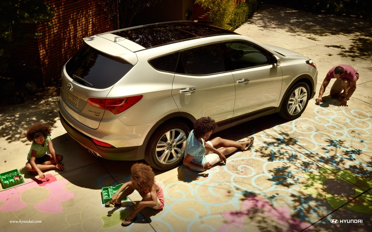 Only you can prevent Saturdays at the mall. The 2013 Santa Fe Sport in Moonstone Silver. Learn more about the new Santa Fe at hyundai.com.