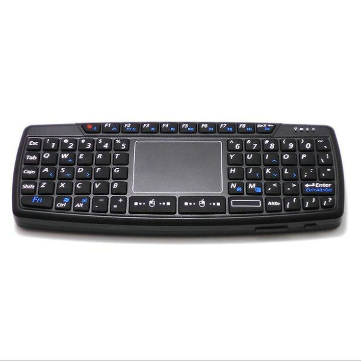 Viboton KB-168 Multi-function 2.4G Wireless Keyboard with Touchpad for Smart TV Box/PC