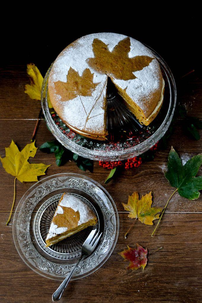  September   Vegan Butternut Squash & Orange Cake #Gluten_Free #Autumn_Recipe