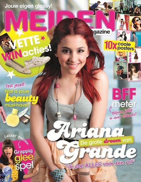 Pin on ariana grande gl magazine cover photos