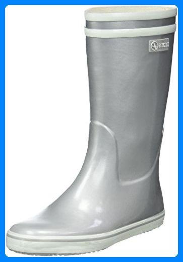 Aigle Damen Malouine Gummistiefel Silber (Silver) 39 EU - Stiefel für frauen (*Partner-Link)