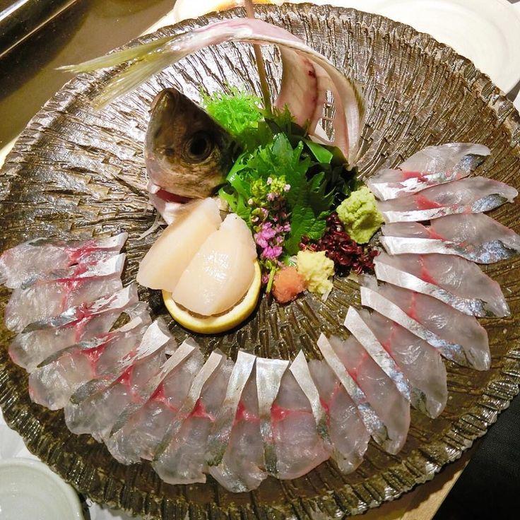 Must-order item: Whole Aji sashimi (Horse mackerel) @ Sushi Kuu HK. by candymokky