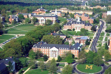 University of Maryland, College Park Maryland.