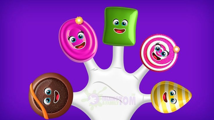 Candy Finger Family Song | Top 1 Finger Family Songs | Daddy Finger Rhyme