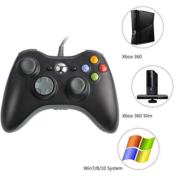 Amazon com: Xbox 360 Controller, Wired USB Controller for PC