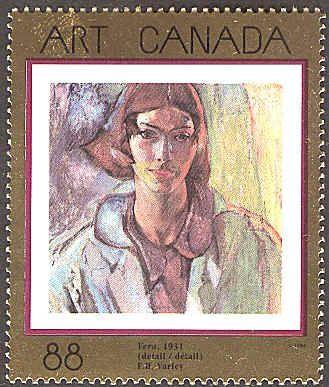 Canada 1994. Group of Seven. Realism/Naturalism. Frederick H. Varley. Vera.