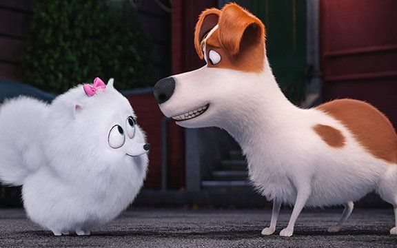 Review Secret Life Of Pets Is A Fetching Family Flick Of Animal Adventure Secret Life Of Pets Animal Tv Pets Movie