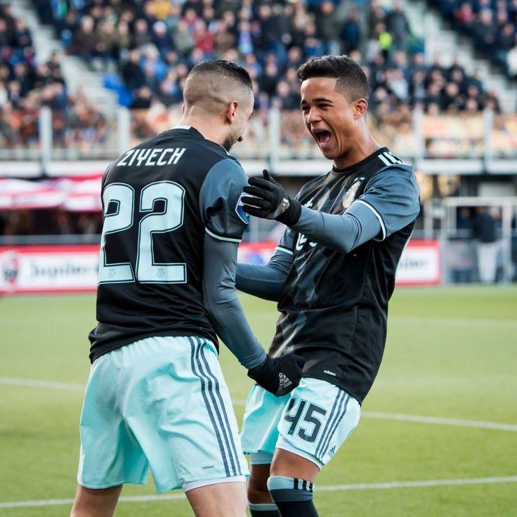 Justin kluivert debuut Pec - Ajax #justinkluivert #ajax