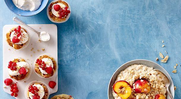 Porridge Und Cupcakes Mit Haferflocken Fur Kolln Rezept Lecker Rezepte Und Porridge
