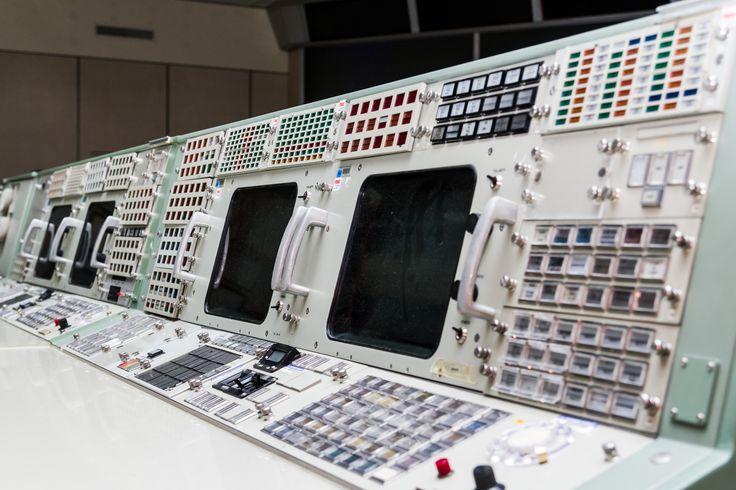 Apollo TELMU and CONTROL consoles