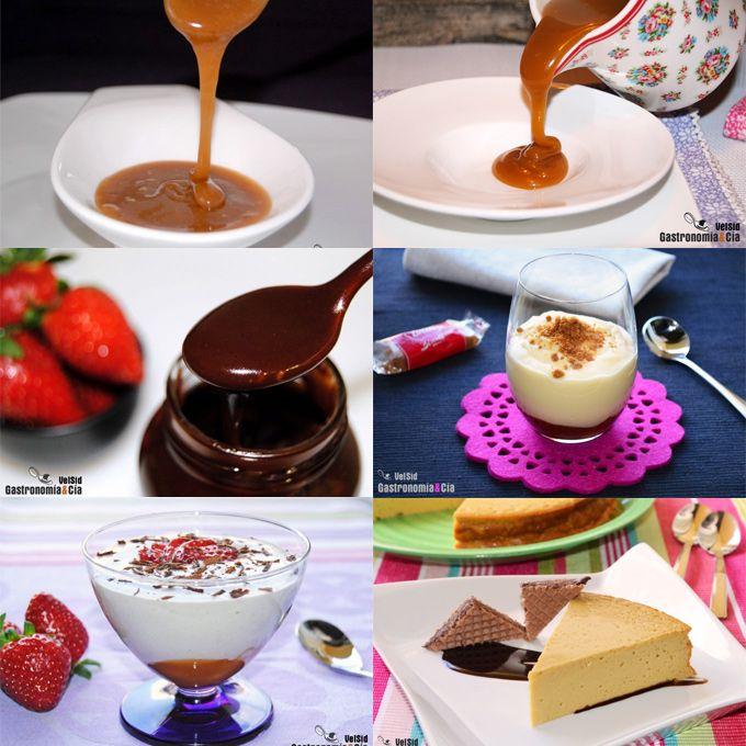 Doce recetas con toffee