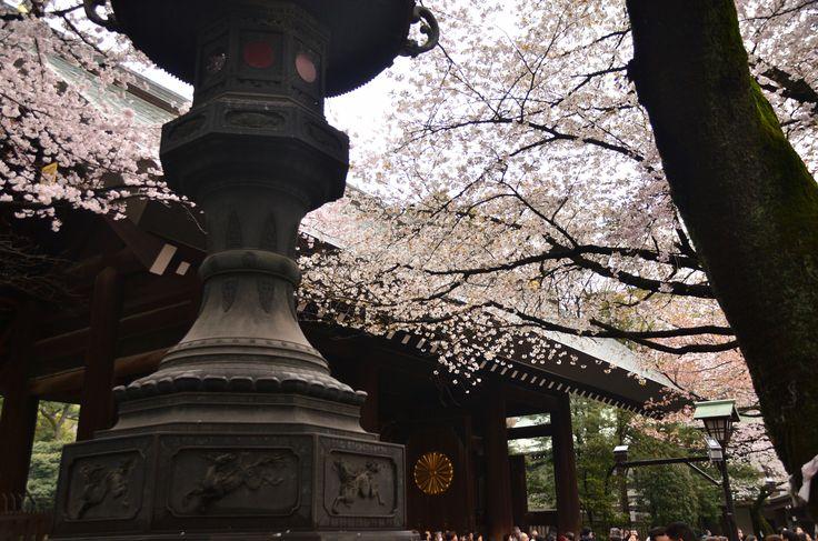 靖国神社 神門の内