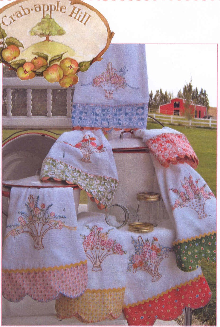 99 best embroidered tea towels images on pinterest fine dining hand embroidery pattern grandmas tea towels crabapple hill studio thank you joy bankloansurffo Images