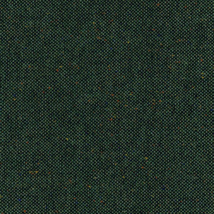 Wool Coating - Tweed Style Asparagus
