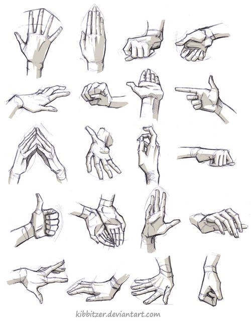 kibbi: Hands/Feet References by *Kibbitzer I hope this will help you! (more stuff here)