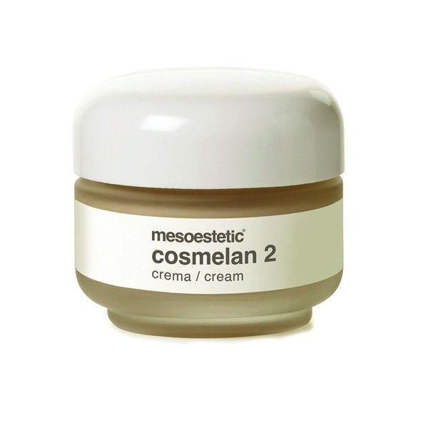 Cosmelan 2 - Creme despigmentante de manutenção para eliminar ou diminuir visivelmente as manchas na pele. Elimine as manchas inestéticas com um produto seguro com resultados comprovados.