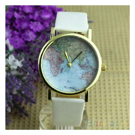 World Map Watch - R100 ⌚ Follow us @paradise_clothing_  Orders: Contact me on 0731178111