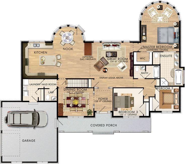 Parkwood Floor Plan