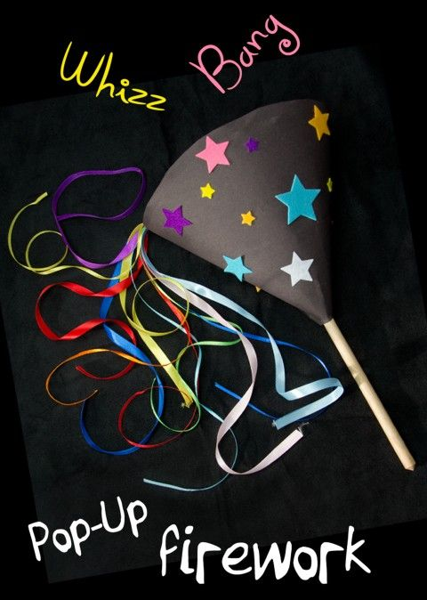 Firework pop-up craft.