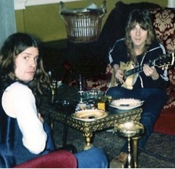 Ozzy and Randy. ...