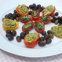 Barchette Vegan-Raw Contorni crudi - Cibocrudo il Raw Food Italiano